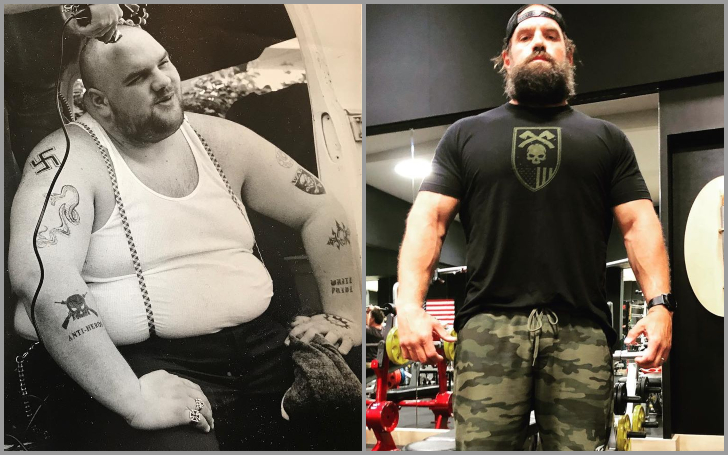 Ethan Suplee's body transformation from fat to fit.