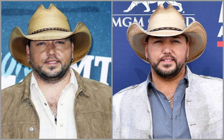 Jason Aldean looks thinner in his 2019 photo than in his older one thanks to his diet plan.