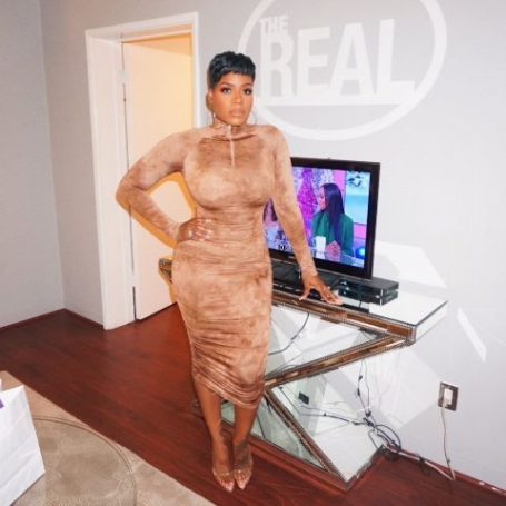Fantasia Barrino shows off her weight loss journey in 2019.