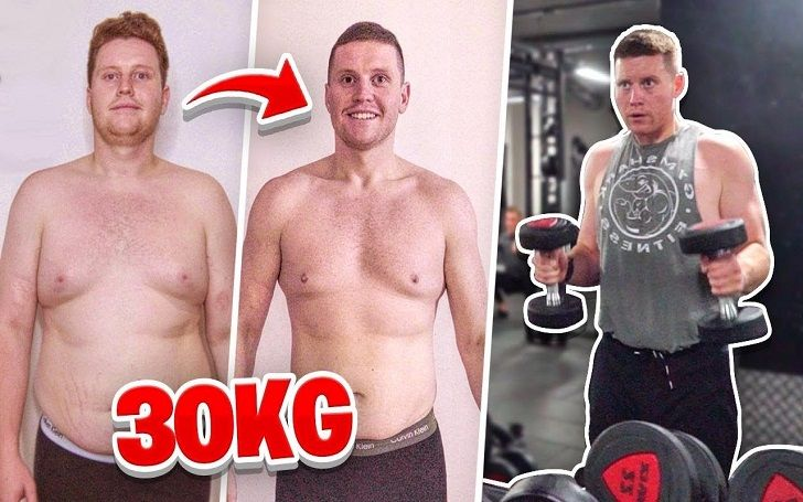 Behzinga shed 30kg of body fat to look physically fit.