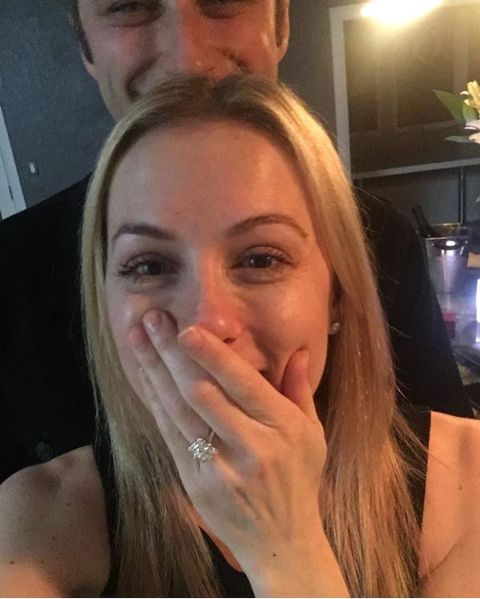 Noah Galuten and wife Iliza Shlesinger's Engagement
