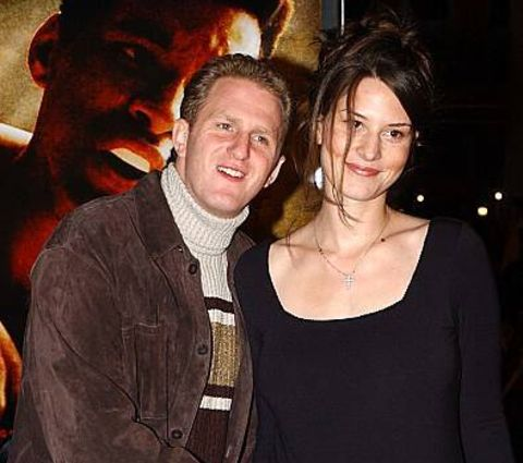 Michael Rapaport with his former spouse.