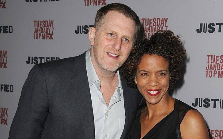 Kebe Dunn and husband, Michael Rapaport.