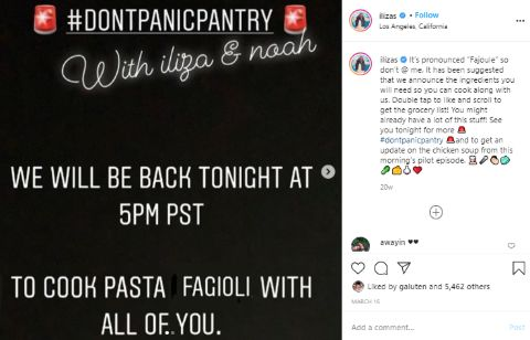 Noah Galuten's post on Don't Panic Pantry