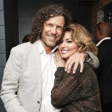 Shania Twain with her husband Frederic Thiebaud