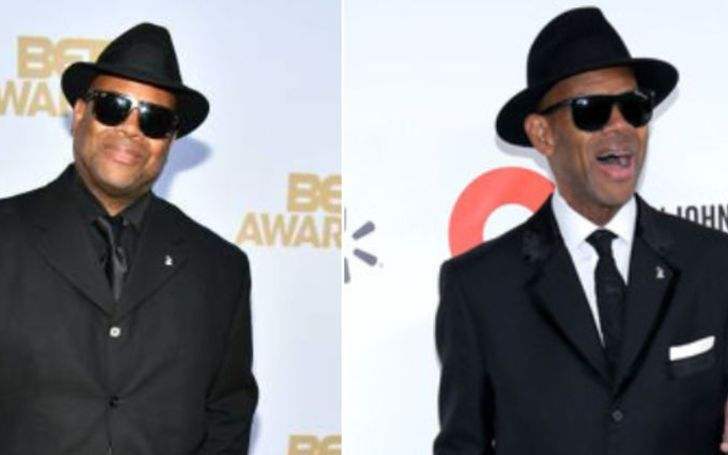 Before and After photo of Jimmy Jam's Weight Loss.
