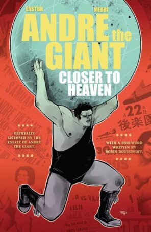 Andre the Giant Closer to Heaven book cover.