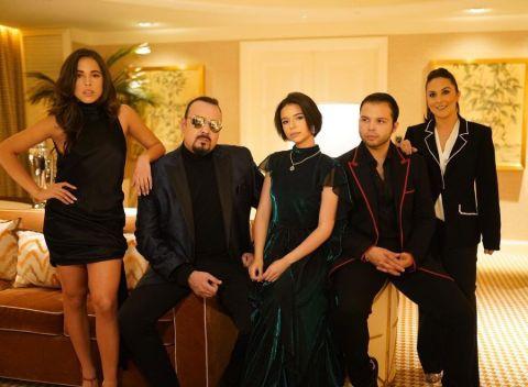 Aneliz Aguilar Alvarez's Family photo.