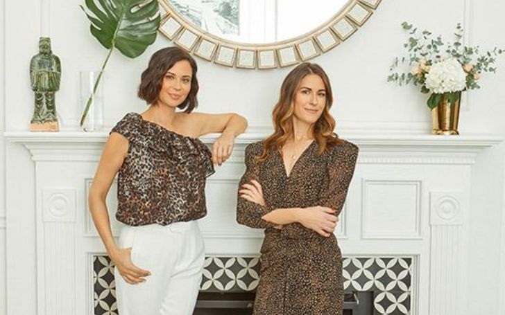 A photo of Catherine Bell and Brooke Daniells.