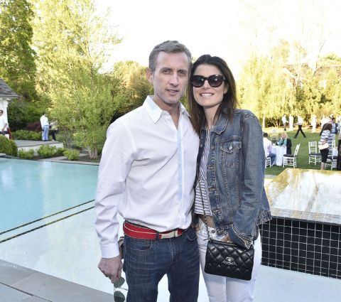 Florinka Pesenti with her boyfriend, Dan Abrams.