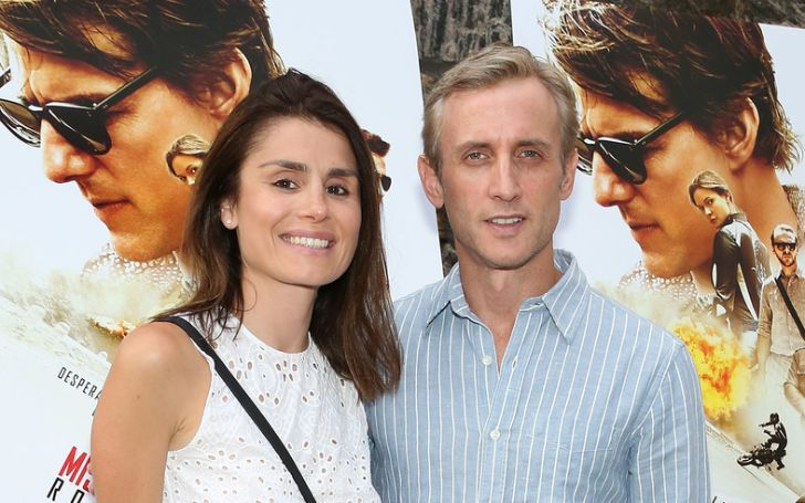 """Florinka Pesenti (L) and Dan Abrams attend the """"Mission: Impossible - Rogue Nation"""" Special Screening Hosted By Alec Baldwin, Arrivals at United Artists East Hampton Cinema on July 24, 2015 in East Hampton, New York."""