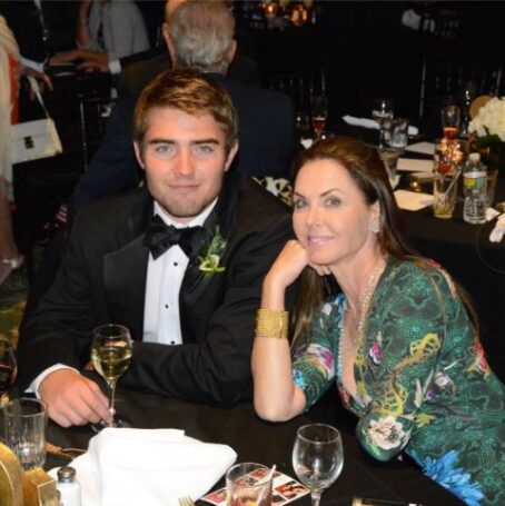 A photo Liam Costner and his mother, Bridget Koch.
