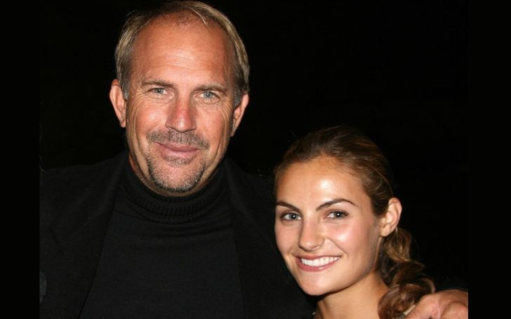 Kevin Costner with his daughter Annie Costner.
