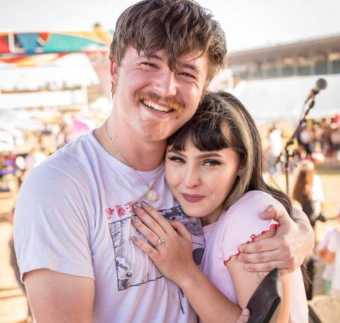 Jakob James Nowell and Ashlyn Zeda as officially engaged.