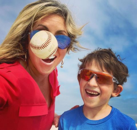 Laura Ingle and Her son, Jackson Marshall Kramme.