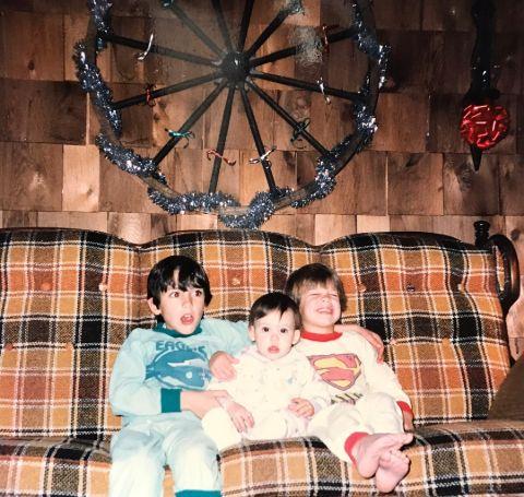 Cheryl Scott with Her Elder Siblings.